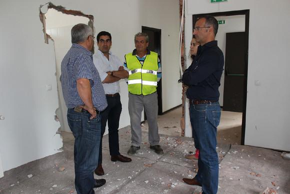 visita à obra da EB1 de Venade (1)