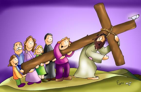 Domingo Ramos Semana Santa Carguemos y apoyémonos