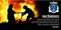 Campanha de sensibilização para época dos incêndios