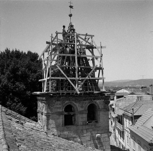 Torre Sineira da Igreja Matriz, Chaves, 1965