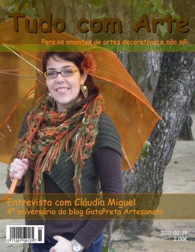 Entrevista 4º aniversário do blog GataPreta Artesanato