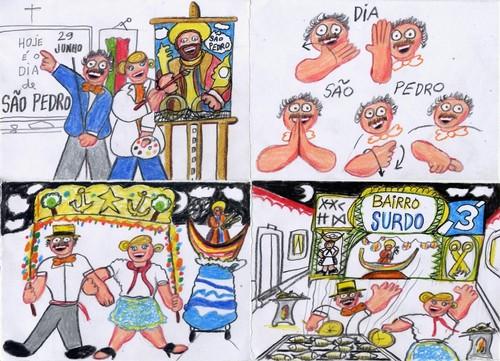 Desenho do São Pedro que é dia 29 de Junho