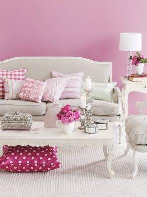 decoração_rosa