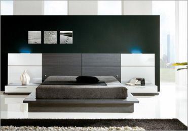 Tipos de camas para decorar o seu quarto decora o e ideias - Camas tapizadas modernas ...