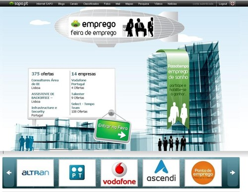 Feira Virtual SAPO Emprego