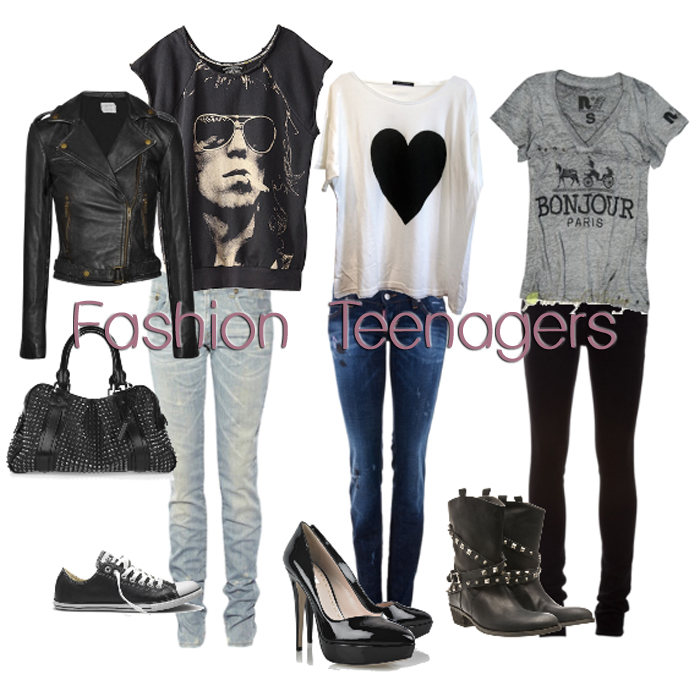 how to get the rock chick look