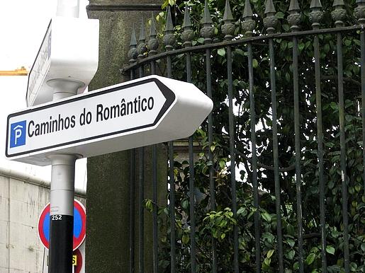 caminhos do romântico