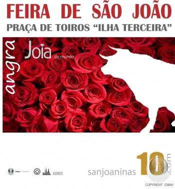 O cartaz da Feira de São João - edição 2010...