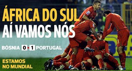 Portugal...já está no Mundial!