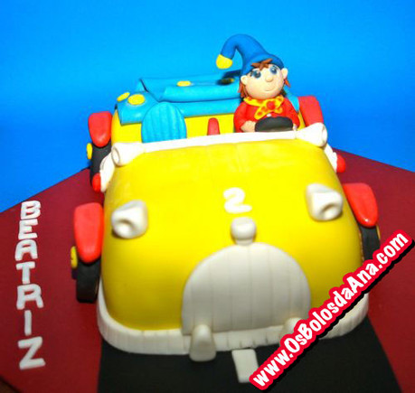 Bolo carro do noddy
