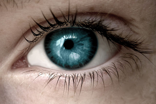olhos teste visão