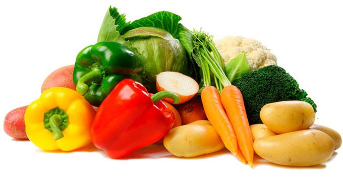 Verduras, legumes e leguminosas