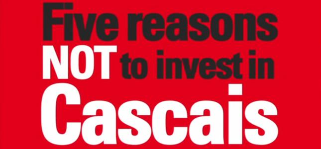 5 razões para não investir em Cascais