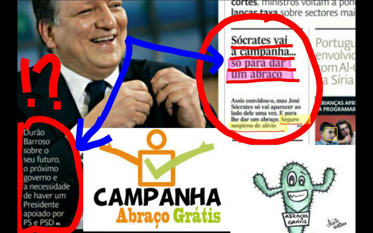 José Sócrates,  ps, psd, eleições europeias 2014, Durão Barroso, José Seguro