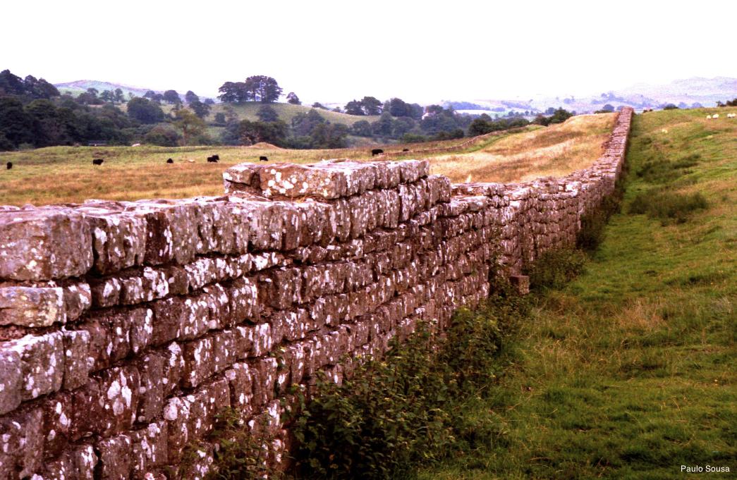 Reino unido muralha de adriano vale do anzel for A muralha de adriano