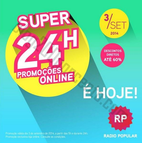 Super24 RADIO POPULAR até às 05:00h de 4 setembro