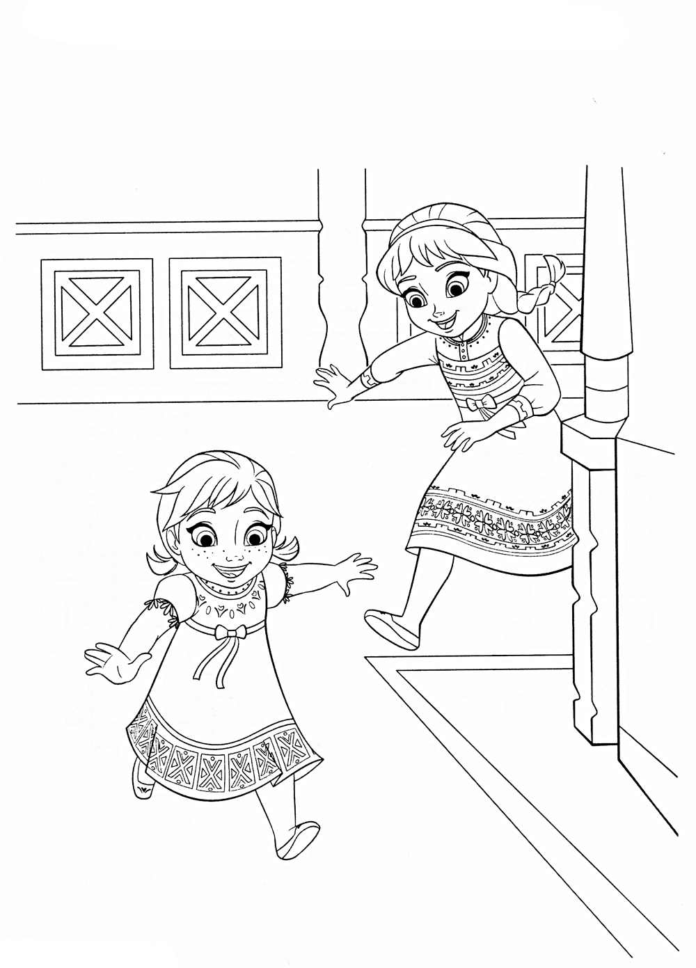 Disney frozen coloring pages olaf