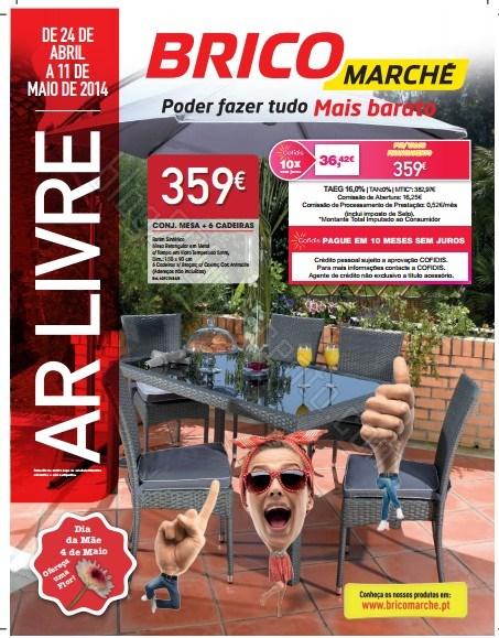 Novo folheto | BRICOMARCHÉ | de 24 abril a 11 maio - Ar Livre