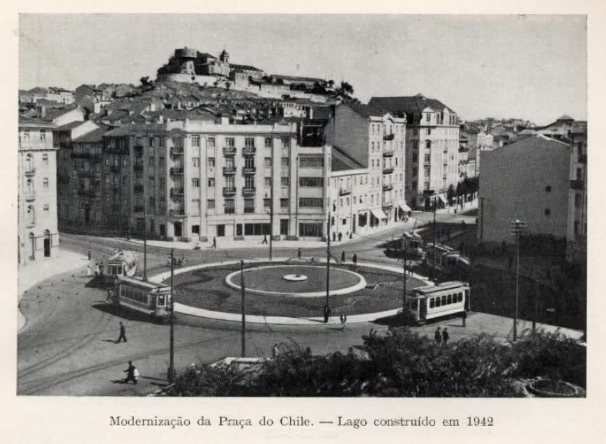 Praça do Chile, Lisboa, 1942