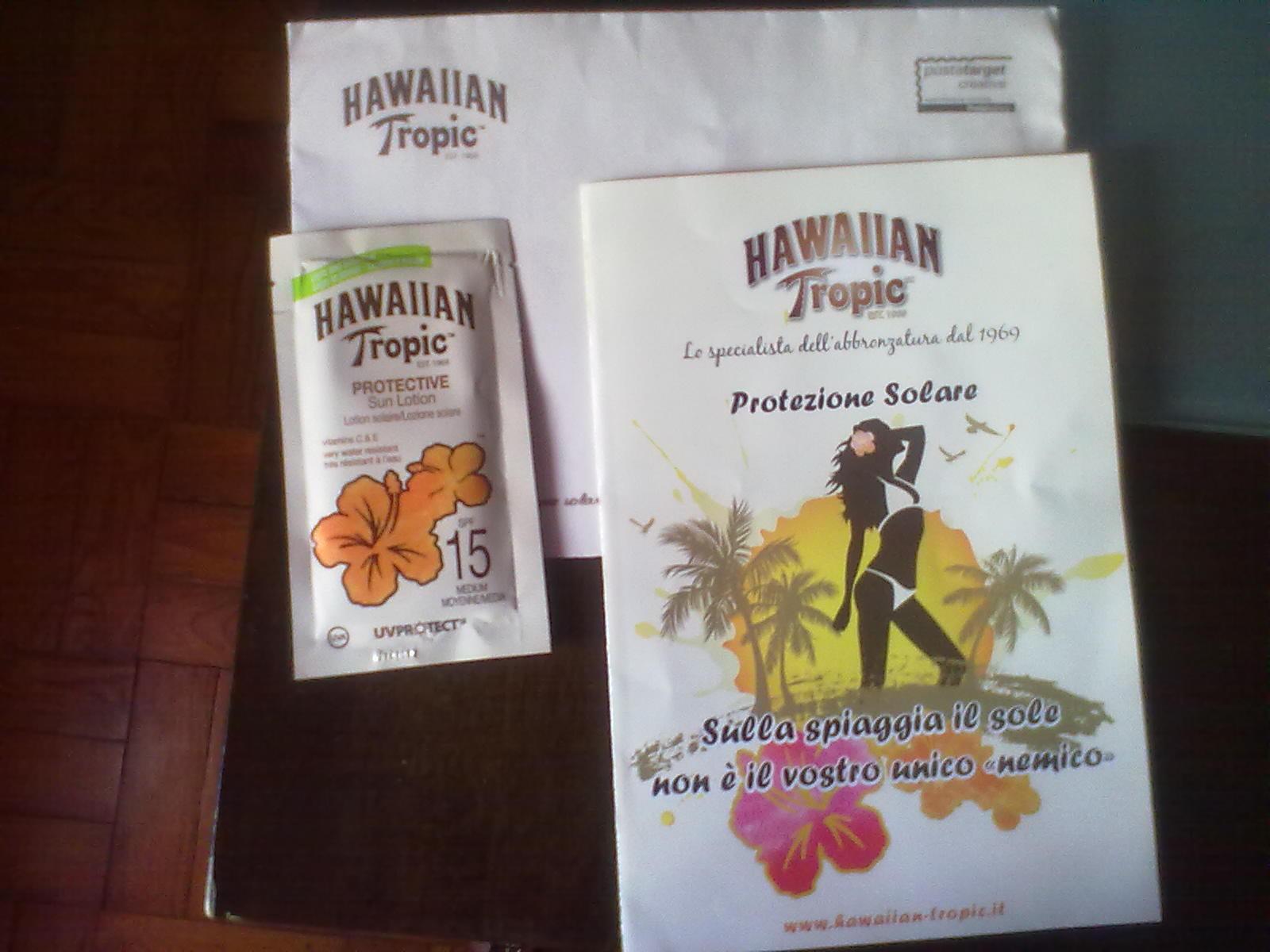 Amostras Hawaiian Tropic - Protetor Solar - [Recebido] 15209522_zIzzA
