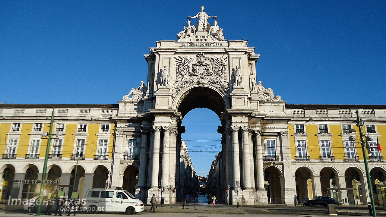 Praça do Comercio - Arco da Rua Augusta