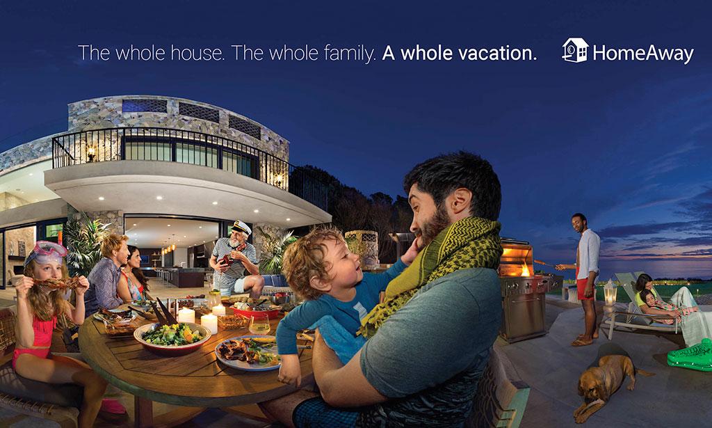 HomeAway - aluguer de casas de férias