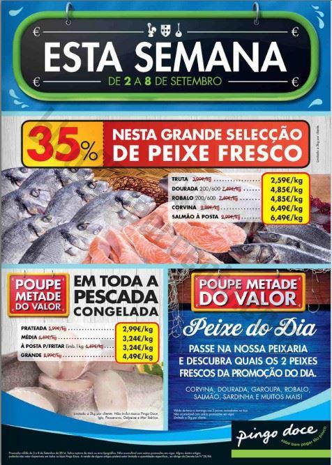 Antevisão Folheto PINGO DOCE de 2 a 8 setembro - online
