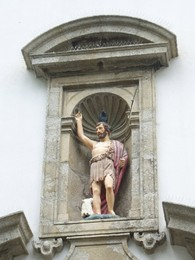 S.João Baptista na igreja de S.João da Foz