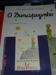 O Principezinho - edição francesa e tradução portuguesa