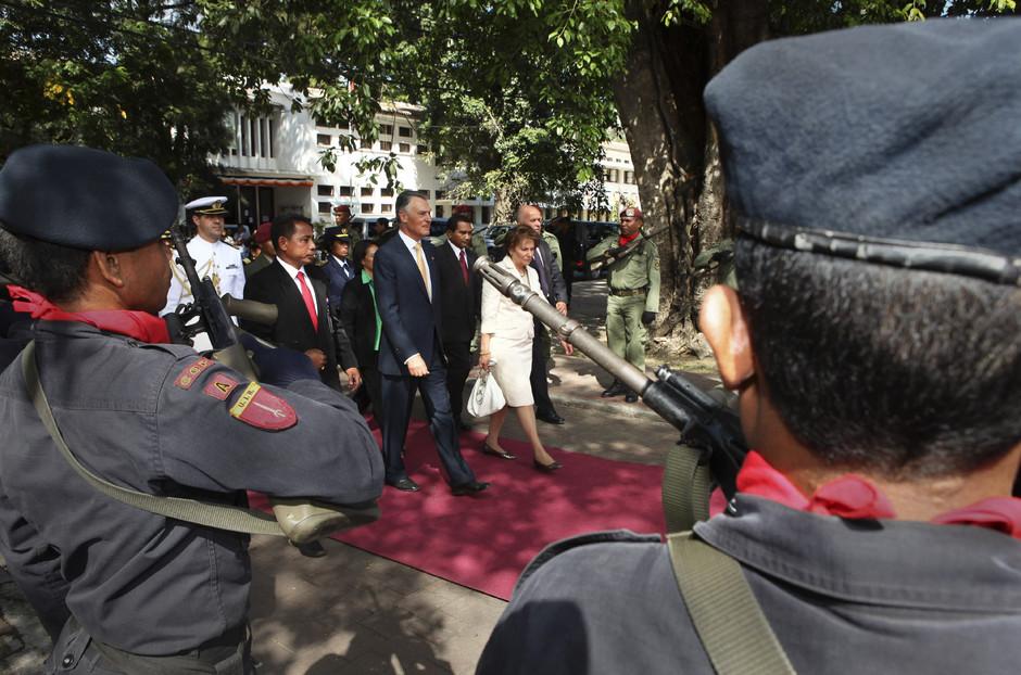 Cavaco Silva visita Parlamento