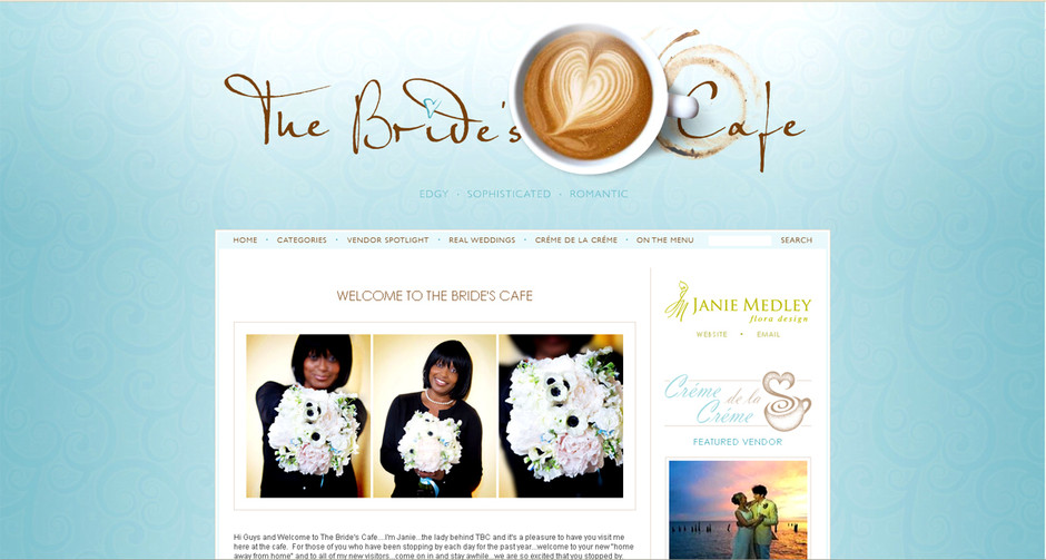 the brides cafe
